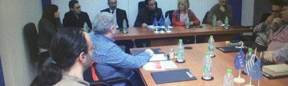 Παρουσίαση των δράσεων Ένωσης Ελλήνων Ανέργων με την Ένωση Ελλήνων Φτωχών