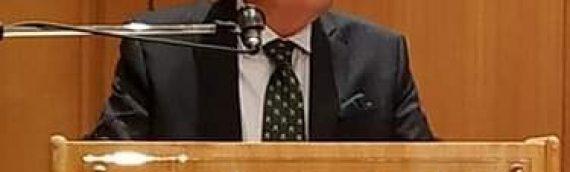 Στην Αίγλη Ζαππείου με κεντρικό ομιλητή τον τ. Αναπληρωτή Γεν. Γραμματέα του Ο.Η.Ε. κ. Σωτήριο Μουσούρη