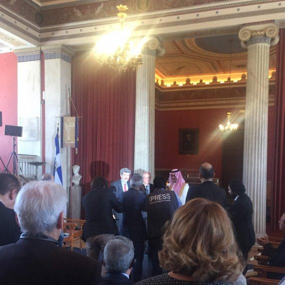 Ο Πρόεδρος του ΛΕΥΚΟ Κος  Ανδρέας Ρεντζούλας στην τιμητική εκδήλωση της Διεθνούς Ενώσεως Αθλητικού Δικαίου (ΔΕΑΔ)